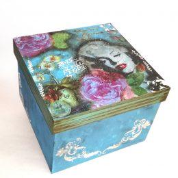 Caja Vintage Marilyn