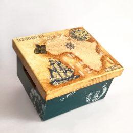 Caja Vintage para Hombre