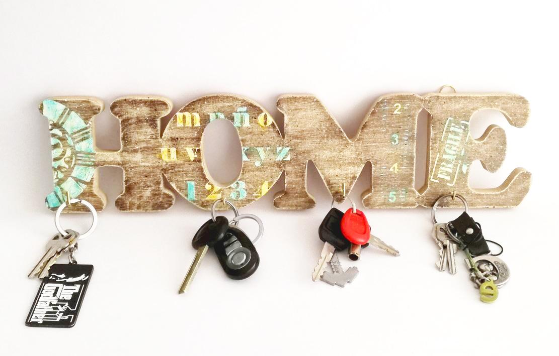 Porta llaves home para hombre bazar artesanal - Para colgar llaves ...