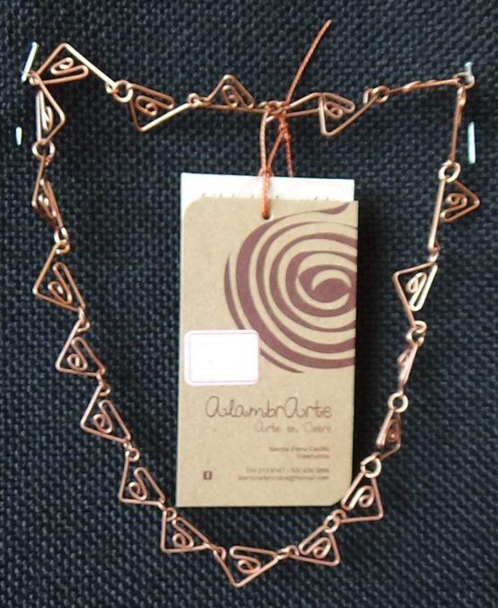 Collar alambre de cobre2